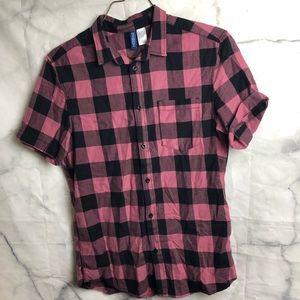 H M Shirts Hm Flannel Shirt Small Poshmark